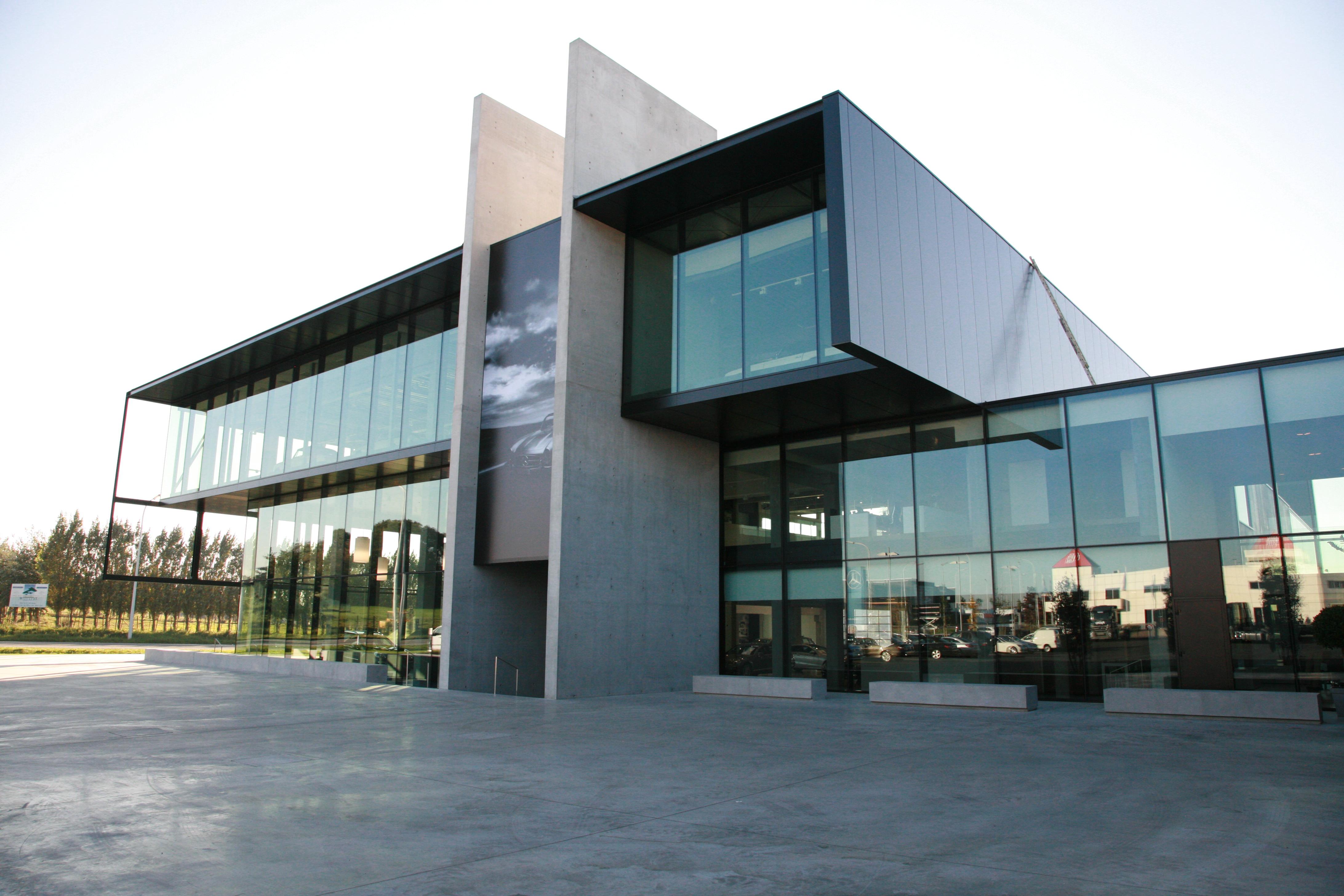 Prefab Garages Beton : Referentie garage vereenooghe valcke prefab beton